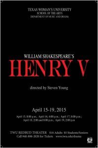 Drama produces 'Henry V'