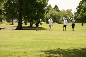 TWU Golfers tee off at Fit and Rec Scramble