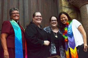 Community Rally Celebrates Supreme Court's Same-Sex Marriage Ruling