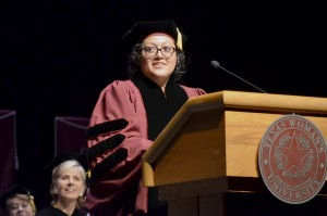 New student regent speaks for TWU students