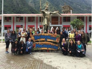 TWU Nursing student travels to Peru