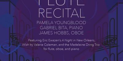 Dr. Youngblood's next performance along with her fellow faculty members will include musical compositions from various artists.