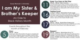 Black History Month – Campus Event Calendar