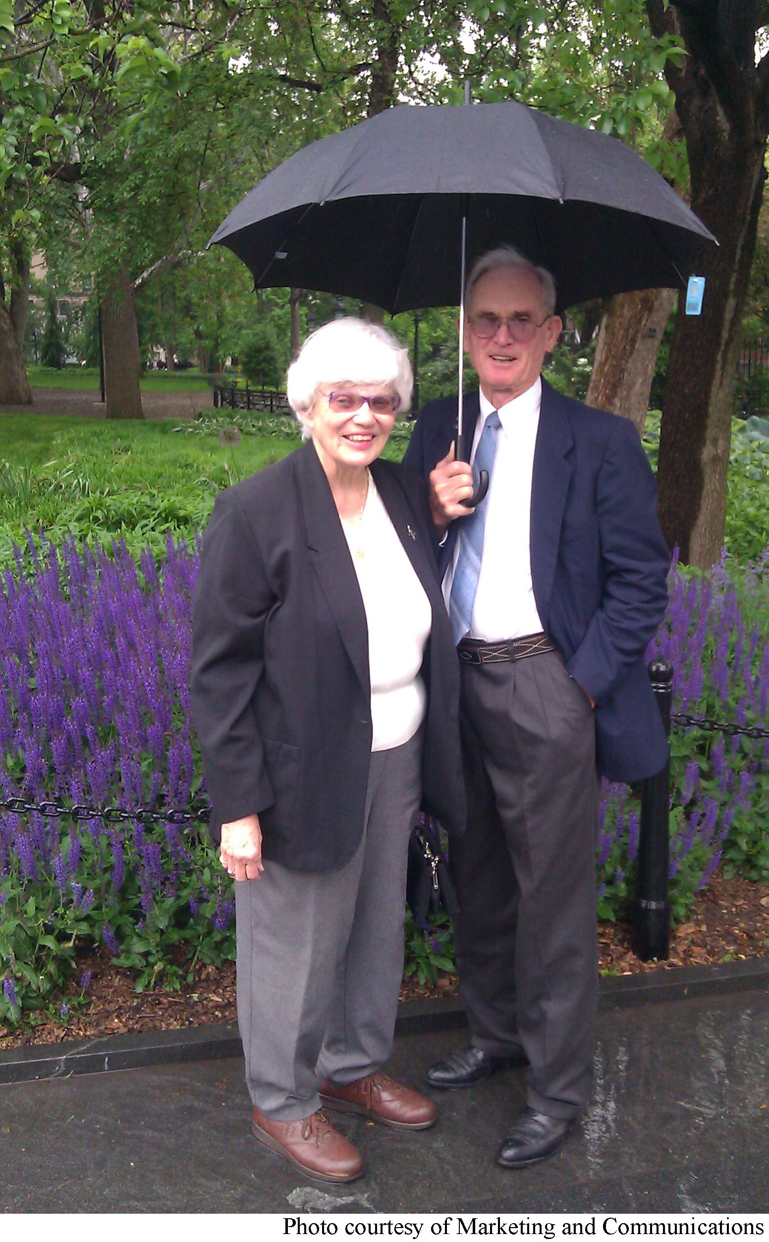 Kay and Bob Goodman will receive the Founder's Award April 7.
