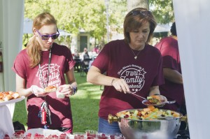 Family Weekend Fun: TWU brings their families to the campus