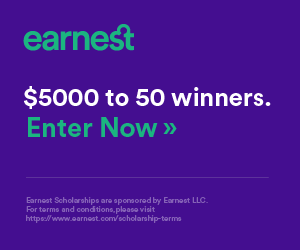 Earnest. $5000 to 50 winners. Click to enter now.